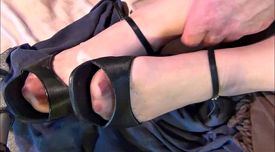 Nylon, Shoes, Stocking foot, Shoe