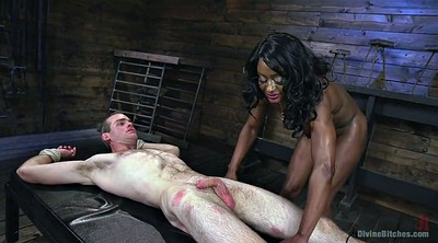Ebony anal, Punish anal, Strapon pegging, Strapon anal, Muscle femdom, Anal punishment