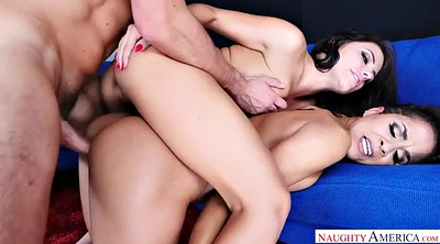 Adriana chechik, Hairy threesome