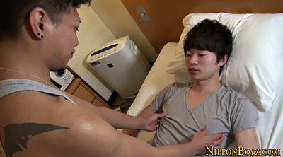 Japanese handjob, Asian gay