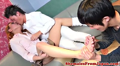 Japanese anal, Japanese shemale, Shemale sucked