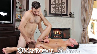 Young, Hairy, Gay massage