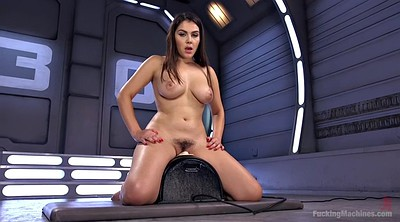 Machine, Italy, Hairy solo, Anal toys