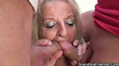 Old, Mature blondes, Grandmother