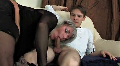 Russian mature, Young russian, Watching porn, Watches