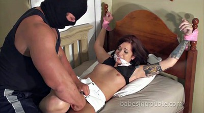 Abuse, Tied up, Abused, Tied tits