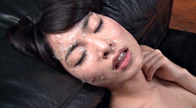 Japanese bukkake, Bukkake asian