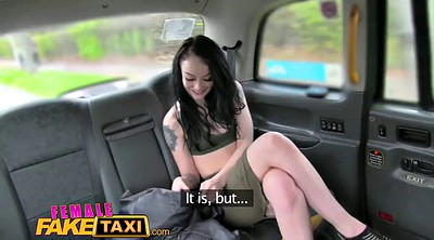 Taxi, Female, Female fake taxi, Taxi fake, Female orgasm