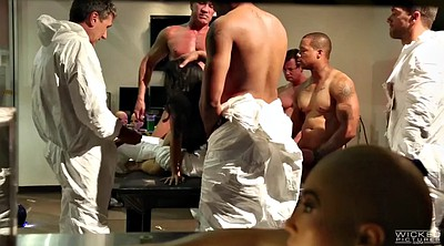 Group sex orgy, Asa akira, Asian orgy