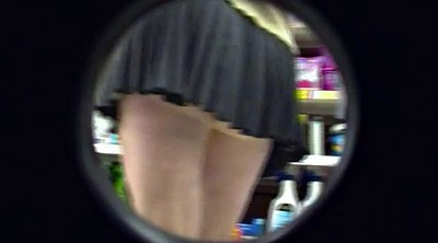Upskirt, Flashing, Shopping