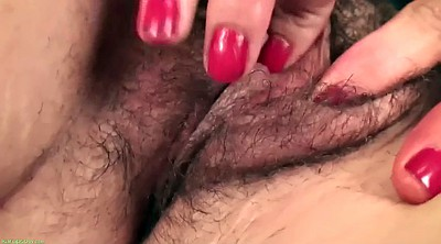 Hairy, Granny solo, Older mature, Kinky
