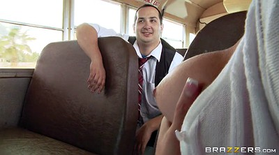 Bus, Brooke, On the bus, Teen tease