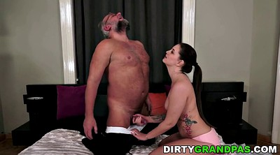 Old young, Young creampie, Granny creampie