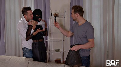 Thief, Two girls, Hd interracial