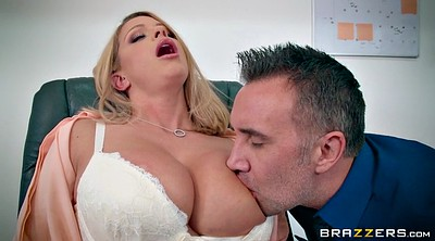 Big tits, Office, Brooklyn chase