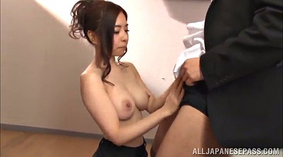 Skirt, Pantyhose handjob, Pantyhose lick, Asian office, Pantyhose asian