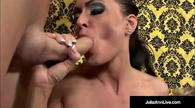 Handjob, Julia ann, Ann, Mommy pov, Pov kiss, Kissing pov