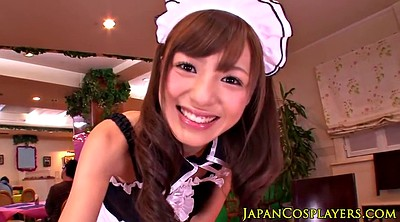 Maid, Japanese facial, Jerk, Jerking, Japanese maid