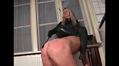 Leather, Ass slave, Leather femdom