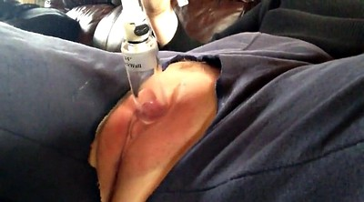 Big clit, Pumped pussy, Contraction, Pussy pump