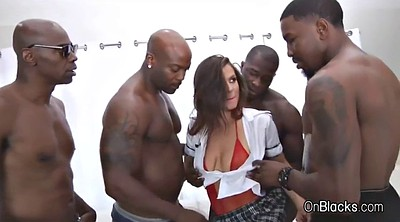 Group, Interracial anal, Black gangbang