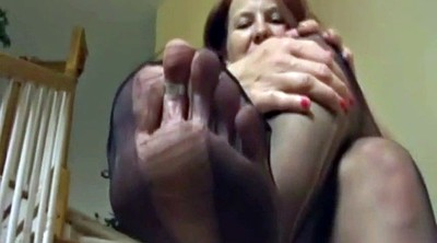 Feet, Mature feet, Mature footjob