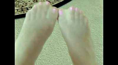 Pantyhose feet, Pantyhose teen