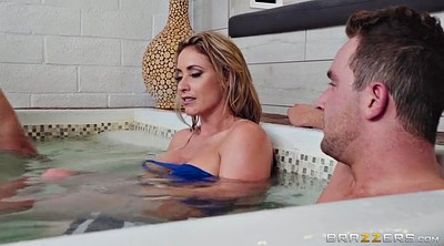 Eva notty, Sauna, Son friend, Handjob son, Caught jerking, Almost caught