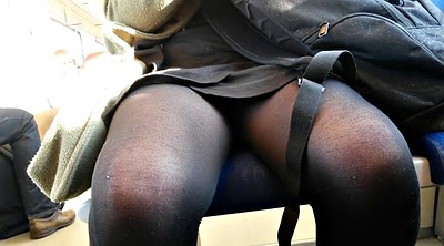 Upskirt, Dutch, Train