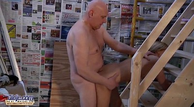 Grandpa, Old pussy, Homemade young