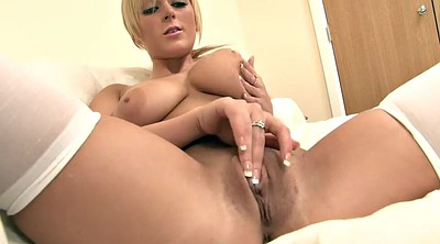 Nylon, Blond, Pussy lips, Nylon masturbation, Lips, Big lips