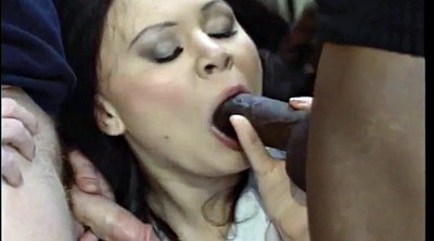 Double anal, Anal group, Black group, Black and white, Asian white