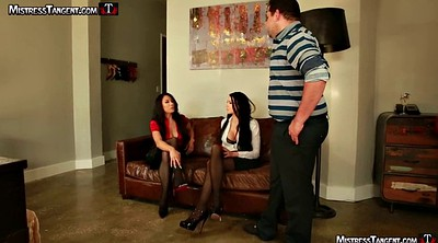 Tangent, Foot femdom, Threesome foot, Alexis grace