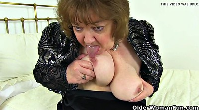Granny, English, British mature, Susan, Granny pussy, Granny dildo