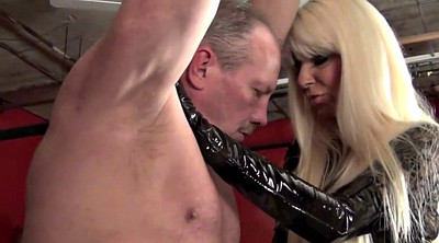 Leather, Femdom whipping
