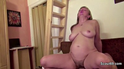 Mom with, Hairy mature