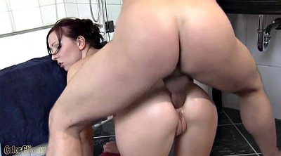 Bathroom, Young anal