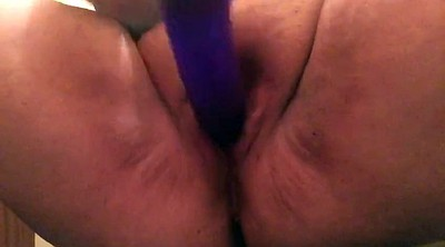 Fat, Dildo squirting