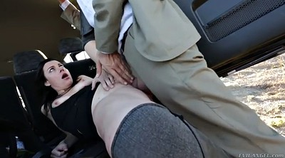 Upskirt, Car fuck