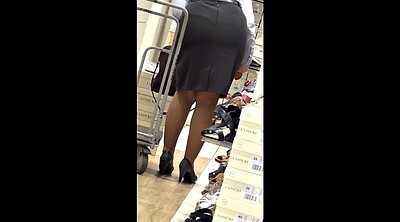 Feet, Pantyhose feet, Leggings, Mature pantyhose, Shopping