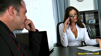 Office, Huge boobs, Sensual jane, Milf office, Deal