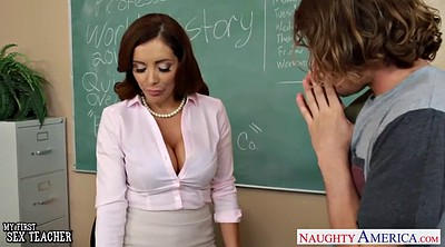 Pantyhose fuck, Tit, Sex teacher