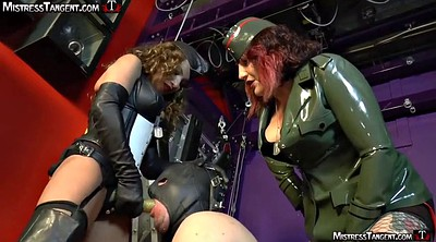 Train, Strap, Mistress slave, Strap on, Femdom strapon