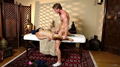 Father, Teen massage, Asian father