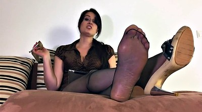 Nylon feet, Step mother, Nylons, Nylon fetish, Cum feet