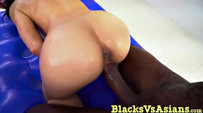 Ebony massage, Massive cock, Massage asian, Asian shower