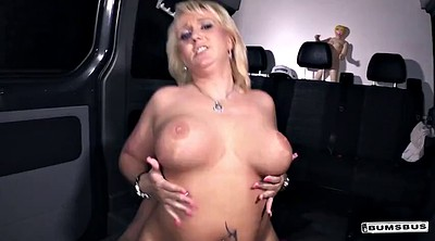 Bus, German milf
