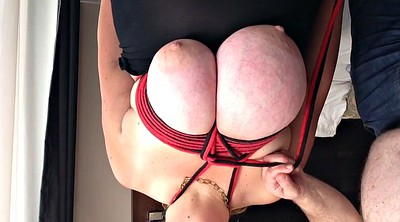 Big tits, Huge tits, Big breast, Tied, Breast bondage