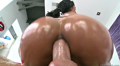 Brazil, Fat anal, Bbw oil
