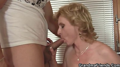 Wife share, Wife threesome, Granny threesome, Delivery